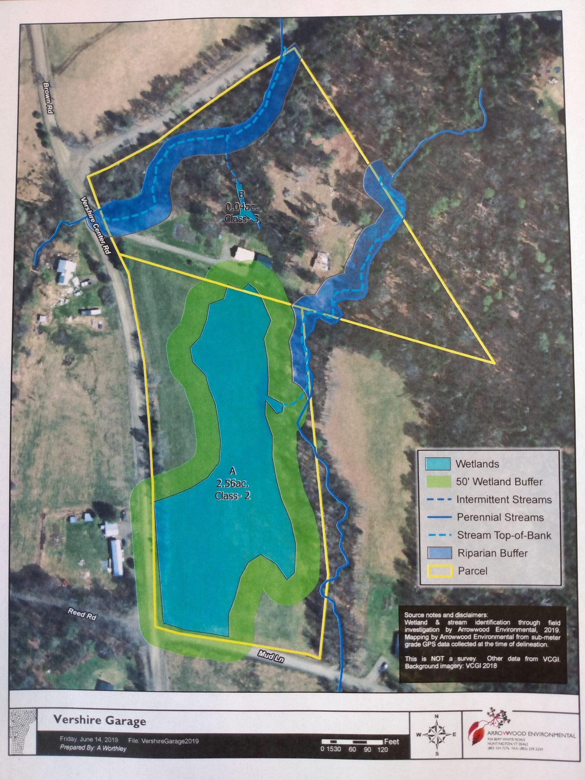 Wetland at 815 VCR